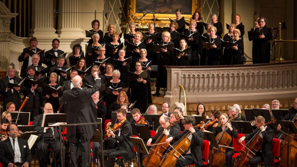 Worcester Chorus — Brahms Requiem