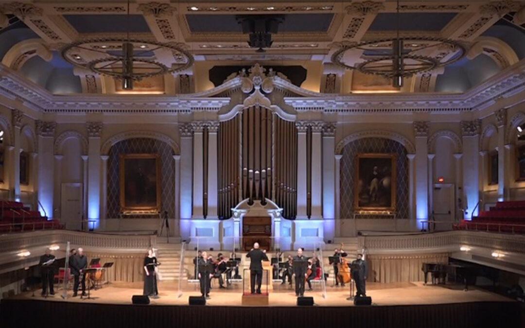 Mozart Requiem   The Worcester Chorus, CONCORA, & Masterwork Chorus